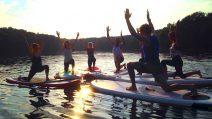 SUP Yoga Schlachtenee