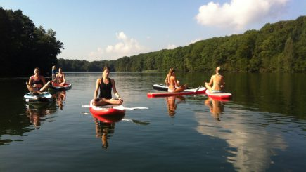 SUP Yoga Steh-Paddler.com