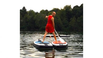 Stand Up Paddling Firmenevent Berlin Schlachtensee