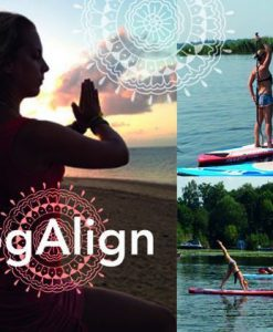 Stand Up Paddling Berlin Schlachtensee SUP YogAlign Hawaii