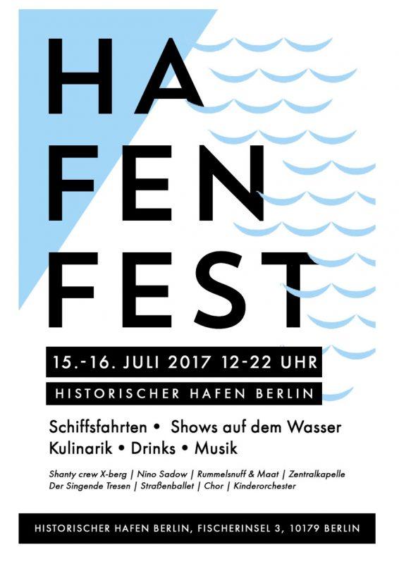Hafenfest Historischer Hafen Berlin 2017