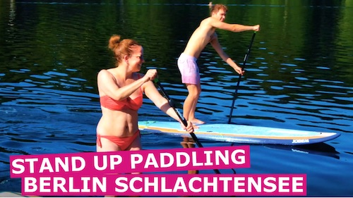 Stand UP Paddling Berlin Schlachtensee Image-Trailer 2019