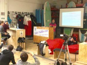 Stehpaddler Workshop Auf- & Ausbau eines Wassersportzentrums
